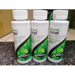Flourish Excel thương hiệu Seachem MỸ Phân nước bổ sung co2 cho hồ thủy sinh dung tích 100ml