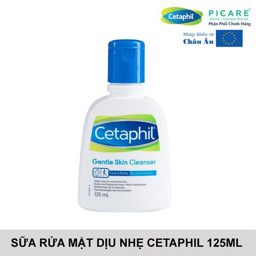 Cetaphil sữa rửa mặt dịu nhẹ cho mọi loại da gentle skin cleanser 125ml - 20392865 , 23155924 , 15_23155924 , 180000 , Cetaphil-sua-rua-mat-diu-nhe-cho-moi-loai-da-gentle-skin-cleanser-125ml-15_23155924 , sendo.vn , Cetaphil sữa rửa mặt dịu nhẹ cho mọi loại da gentle skin cleanser 125ml