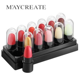 Bộ 12 Thỏi Son Maycreate là dạng son lì dưỡng ẩm - Bộ 12 thỏi son môi mini thumbnail
