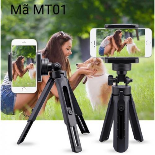 Giá đỡ 3 chân mini tripod mt01 cho điện thoại và máy chụp hình