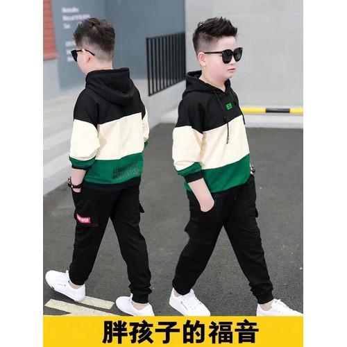 Sét bộ quần áo thu đông trẻ em co mũ dành cho bé trai 6-10 tuổi chất vải đẹp - 20393918 , 23157222 , 15_23157222 , 99000 , Set-bo-quan-ao-thu-dong-tre-em-co-mu-danh-cho-be-trai-6-10-tuoi-chat-vai-dep-15_23157222 , sendo.vn , Sét bộ quần áo thu đông trẻ em co mũ dành cho bé trai 6-10 tuổi chất vải đẹp