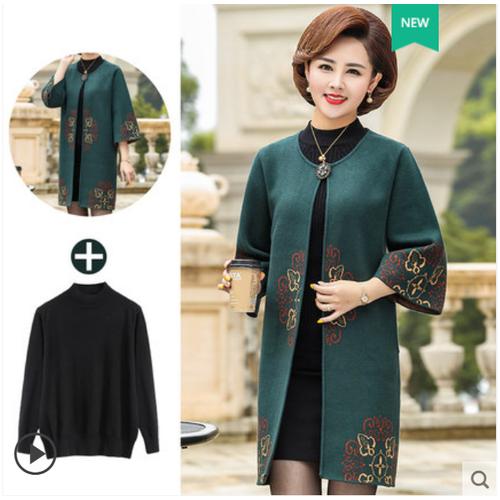 Áo khoác kiểu nữ thời trang trung niên cao cấp tặng kèm áo len đen - 20384469 , 23139772 , 15_23139772 , 1790000 , Ao-khoac-kieu-nu-thoi-trang-trung-nien-cao-cap-tang-kem-ao-len-den-15_23139772 , sendo.vn , Áo khoác kiểu nữ thời trang trung niên cao cấp tặng kèm áo len đen