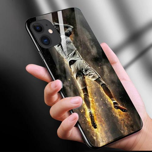 Ốp điện thoại kính cường lực cho máy iphone 11 - c.ronaldo ms cr7010