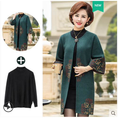 Áo khoác kiểu nữ thời trang trung niên cao cấp tặng kèm áo len đen - 20384510 , 23139830 , 15_23139830 , 1790000 , Ao-khoac-kieu-nu-thoi-trang-trung-nien-cao-cap-tang-kem-ao-len-den-15_23139830 , sendo.vn , Áo khoác kiểu nữ thời trang trung niên cao cấp tặng kèm áo len đen