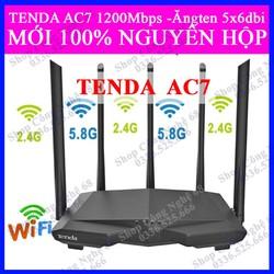 Thiết bị phát Wifi chuẩn AC 1200Mbps Ten da AC7 Đen 1 CÁP MẠNG
