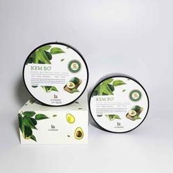 kem dưỡng da body bơ lá organic