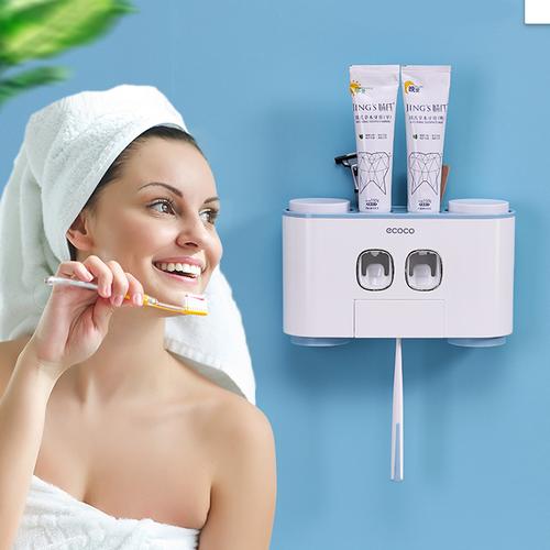 Bộ 4 sản phẩm máy lấy kem và bàn chải đánh răng tự động - laykembanchai