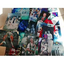 Combo 17 ảnh decal dán tường Ronaldo