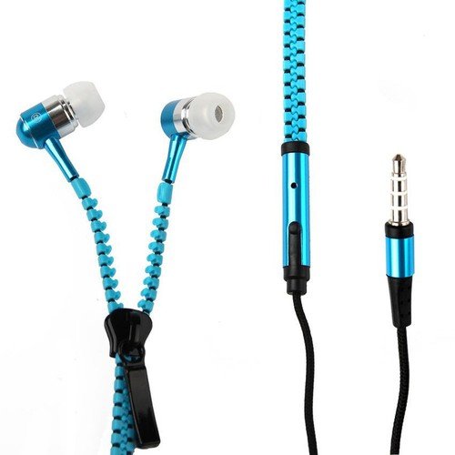 Orr tai nghe kéo khóa zipper chống rối dây giao màu ngẫu nhiên g7p