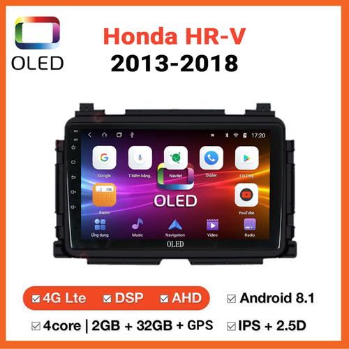 Đầu dvd ô tô oled android dành cho xe honda hrv 2013-2018 giá cực sốc