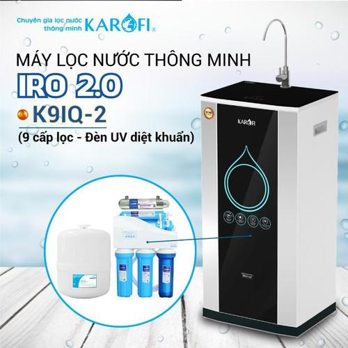 Máy lọc nước ro karofi iro 2.0 k9iq-2 9 cấp lọc - đèn uv diệt khuẩn - 19504301 , 22267896 , 15_22267896 , 8800000 , May-loc-nuoc-ro-karofi-iro-2.0-k9iq-2-9-cap-loc-den-uv-diet-khuan-15_22267896 , sendo.vn , Máy lọc nước ro karofi iro 2.0 k9iq-2 9 cấp lọc - đèn uv diệt khuẩn