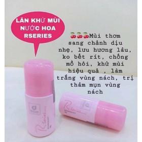 LĂN KHỬ MÙI NƯỚC HOA RSERIES - 50g - lăn khử mùi nước hoa