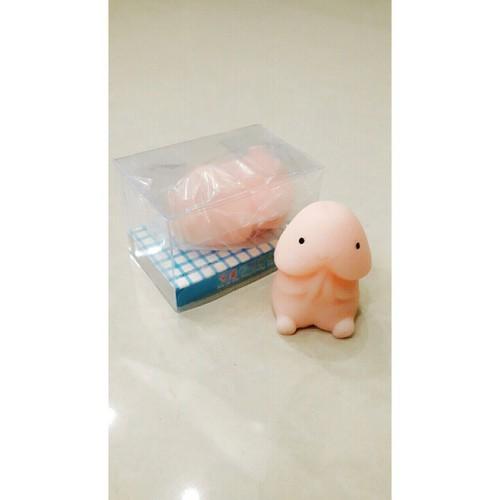 Squishy mochi gudetama chính hãng siêu dễ thương bán nốt nghỉ