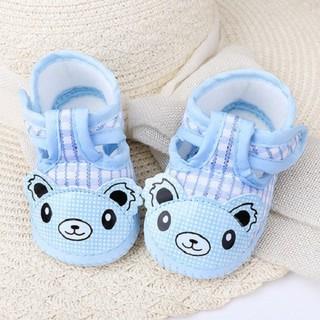 Giày tập đi thêu gấu cho bé - KTB00071 thumbnail