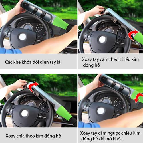 Khóa vô lăng ô tô - gậy bóng chày trên xe ô tô - 19510682 , 22278370 , 15_22278370 , 149000 , Khoa-vo-lang-o-to-gay-bong-chay-tren-xe-o-to-15_22278370 , sendo.vn , Khóa vô lăng ô tô - gậy bóng chày trên xe ô tô