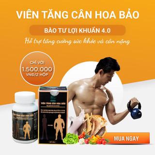 [CHÍNH HÃNG] Viên tăng cân Hoa Bảo - Tăng cân bền vững - HoaBao thumbnail