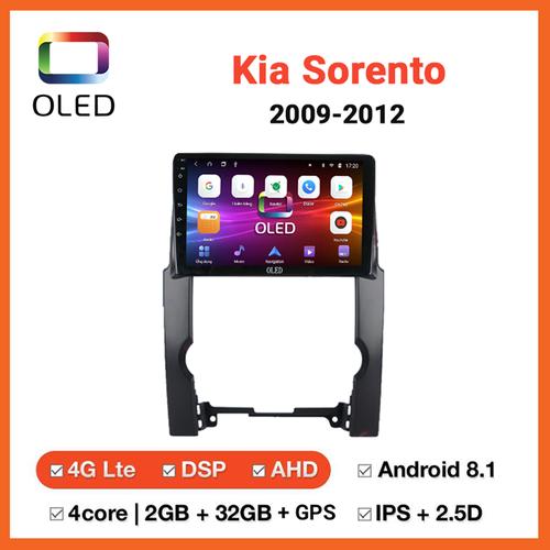 Đầu dvd ô tô oled android dành cho xe kia sorento 2009-2012 giá cực sốc