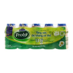 Sữa chua uống men sống Probi 1 lốc 5 chai x 65ml