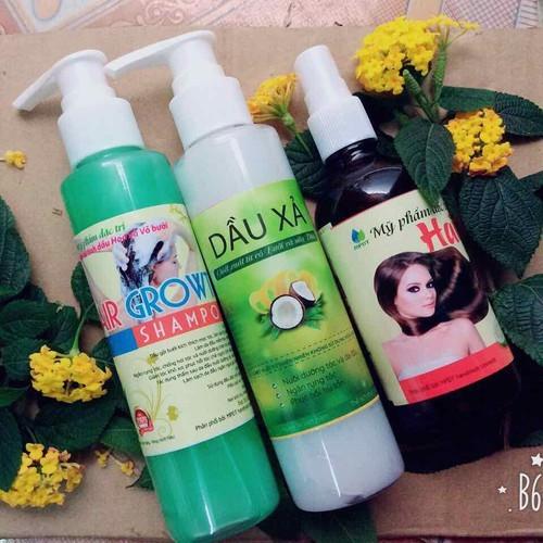 Bộ 3:dầu gội bưởi-dầu xả bưởi-tinh dầu bưởi giúp kích mọc tóc dài và dày.trị rụng tóc