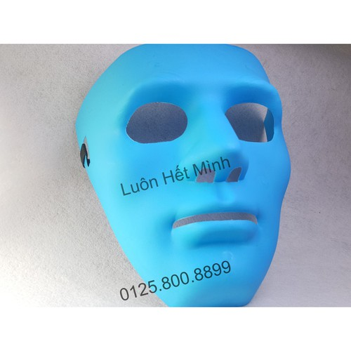 Mặt nạ jabbawockeez xanh o22