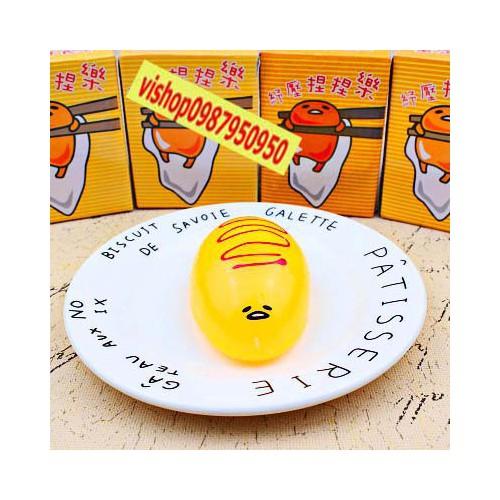 Gudetama squishytrứng trút giận bánh ú giá rẻ rẻ