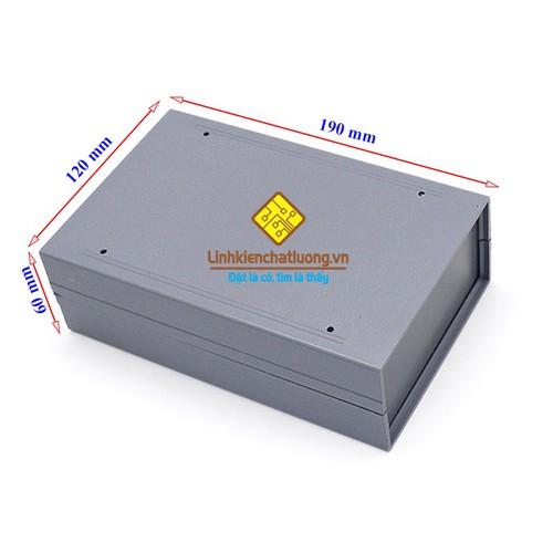 Hộp nhựa 190x120x60mm