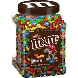Kẹo Chocolate Milk M&M Mỹ 1.75kg