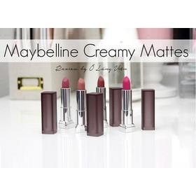 Son thỏi Maybeline Color Sensational Creamy Matte Lip Color - 2096
