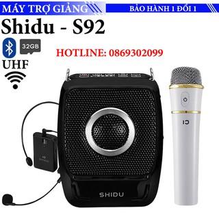 Máy trợ giảng không dây Shidu S92 - Hỗ trợ đọc thẻ 32gb - Sóng không dây UFH - loa to không rè - cho giảng viên, giáo viên, nhân viên bán hàng - Shidu S92 thumbnail