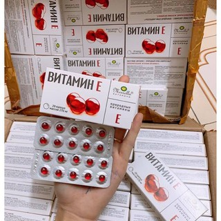 nội địa Nga - Vitamin E Mirolla Nga 270mg - 2091 thumbnail