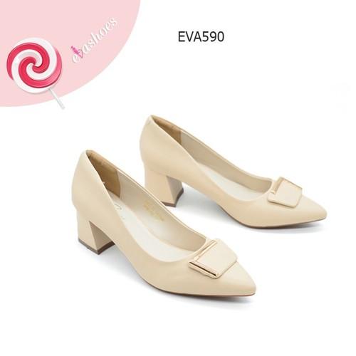 Giày cao gót đế vuông mũi nhọn nơ đính kim loại da tổng hợp 6cm evashoes - eva590 - 18106674 , 23184980 , 15_23184980 , 345000 , Giay-cao-got-de-vuong-mui-nhon-no-dinh-kim-loai-da-tong-hop-6cm-evashoes-eva590-15_23184980 , sendo.vn , Giày cao gót đế vuông mũi nhọn nơ đính kim loại da tổng hợp 6cm evashoes - eva590