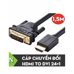 Dây cáp chuyển đổi DVI 24 cộng   1 ra HDMI 1.5m