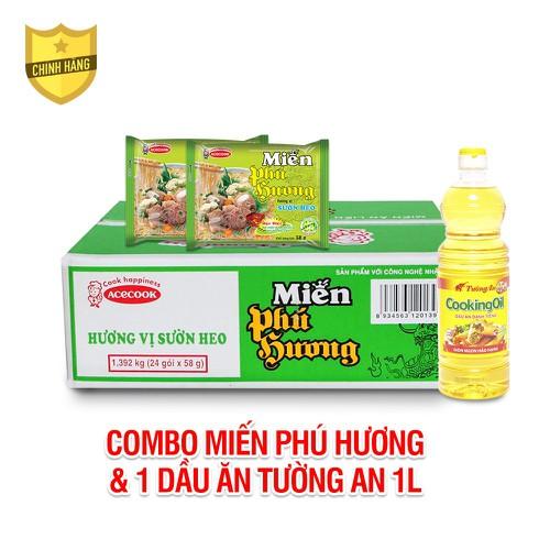[Chỉ giao hcm] combo thùng 24 gói miến gói phú hương hương vị sườn heo acecook và dầu thực vật tường an cooking oil chai 1 lít - 20401117 , 23170601 , 15_23170601 , 265000 , Chi-giao-hcm-combo-thung-24-goi-mien-goi-phu-huong-huong-vi-suon-heo-acecook-va-dau-thuc-vat-tuong-an-cooking-oil-chai-1-lit-15_23170601 , sendo.vn , [Chỉ giao hcm] combo thùng 24 gói miến gói phú hương hư