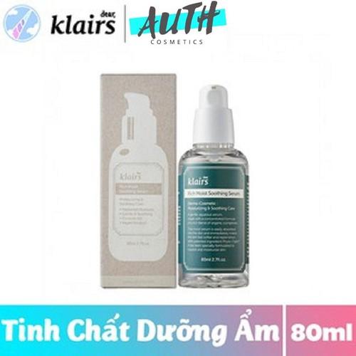 Tinh chất đặc trị dưỡng ẩm sâu  klairs rich moist soothing serum 80ml - 20412728 , 23191277 , 15_23191277 , 355000 , Tinh-chat-dac-tri-duong-am-sau-klairs-rich-moist-soothing-serum-80ml-15_23191277 , sendo.vn , Tinh chất đặc trị dưỡng ẩm sâu  klairs rich moist soothing serum 80ml