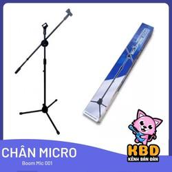 Chân đế kẹp micro đứng Boom Mic Stand để hát