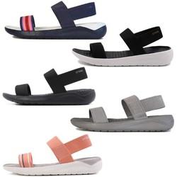 Giày sandal nhựa -crocs- đi mưa Literide chống hôi chân. giầy crocs. chống trơn trượt. Giày -crocs- đi biển, đi phượt