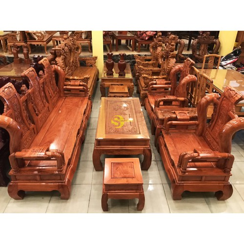 Bộ bàn ghế tần thuỷ hoàng gỗ hương đá tay 12, 6 món - 17782404 , 23188468 , 15_23188468 , 52900000 , Bo-ban-ghe-tan-thuy-hoang-go-huong-da-tay-12-6-mon-15_23188468 , sendo.vn , Bộ bàn ghế tần thuỷ hoàng gỗ hương đá tay 12, 6 món