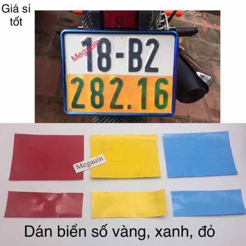 Đề can - decal vàng xanh đỏ dán biển số xe máy -giá 1 miếng - 19563128 , 23175720 , 15_23175720 , 12000 , De-can-decal-vang-xanh-do-dan-bien-so-xe-may-gia-1-mieng-15_23175720 , sendo.vn , Đề can - decal vàng xanh đỏ dán biển số xe máy -giá 1 miếng
