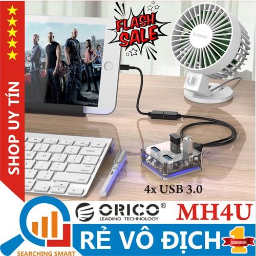 Bộ chia usb 3.0 trong suốt 4 cổng - hub 4-port - orico mh4u-u3-03-cr - bảo hành chính hãng 12 tháng - 19188765 , 23175250 , 15_23175250 , 230000 , Bo-chia-usb-3.0-trong-suot-4-cong-hub-4-port-orico-mh4u-u3-03-cr-bao-hanh-chinh-hang-12-thang-15_23175250 , sendo.vn , Bộ chia usb 3.0 trong suốt 4 cổng - hub 4-port - orico mh4u-u3-03-cr - bảo hành chính