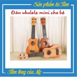 Đàn Ghita Ukulele Mini Cho Bé – Đàn Ghi Ta Nhỏ Cho Bé – Dụng Cụ Âm Nhạc