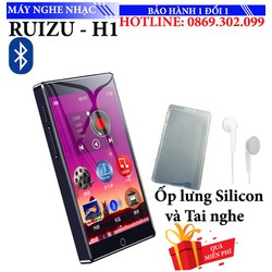 Máy nghe nhạc ipod Mp3 Mp4 Ruizu H1 8GB Màn Hình full Cảm ứng Bluetooth 5.0 Máy Nghe Nhạc Kỹ Thuật Số Di Động Máy Thu Radio FM Ghi Âm Với Tai Nghe Gắn Mic