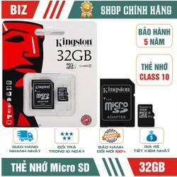 Thẻ nhớ 32GB - Thẻ nhớ 32GB KING.STON