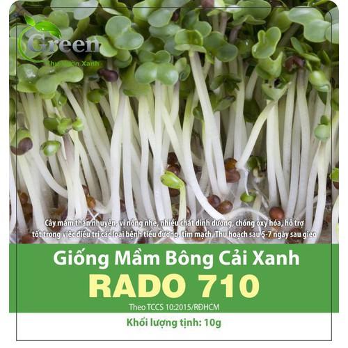 Hạt giống rau mầm bông cải xanh - súp lơ xanh - 20411799 , 23189844 , 15_23189844 , 12000 , Hat-giong-rau-mam-bong-cai-xanh-sup-lo-xanh-15_23189844 , sendo.vn , Hạt giống rau mầm bông cải xanh - súp lơ xanh