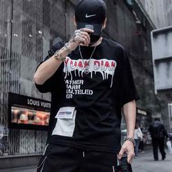 Áo thun nam hip hop cá tính