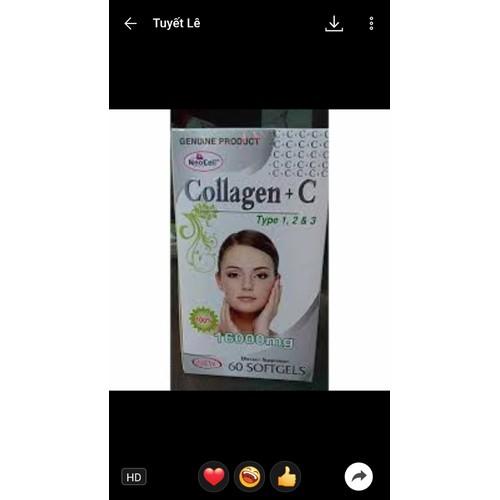 Viên uống bổ sung collagen neocell mỹ hộp 60 viên -collagen +c 16000mg type 1, 2 & 3 - 17567017 , 23195207 , 15_23195207 , 500000 , Vien-uong-bo-sung-collagen-neocell-my-hop-60-vien-collagen-c-16000mg-type-1-2-3-15_23195207 , sendo.vn , Viên uống bổ sung collagen neocell mỹ hộp 60 viên -collagen +c 16000mg type 1, 2 & 3