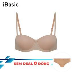 Áo ngực trơn cup ngang tặng kèm quần lót nữ iBasic VA079 - Nhiều màu