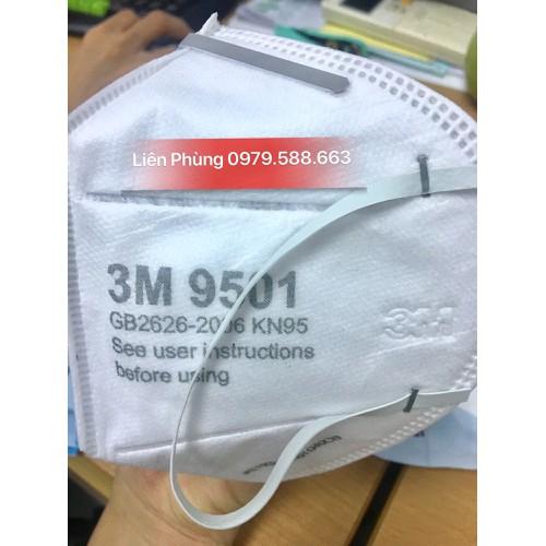 Khẩu trang lọc khuẩn, bụi siêu mịn 9501 chính hãng