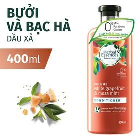 Dầu Xả Herbal Essences Bưởi và Bạc Hà Chai 400ML - 8001090222510