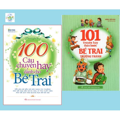 Sách: 100 câu chuyện hay dành cho bé trai + 101 truyện kể theo bước bé trai trưởng thành - 20427838 , 23215870 , 15_23215870 , 130000 , Sach-100-cau-chuyen-hay-danh-cho-be-trai-101-truyen-ke-theo-buoc-be-trai-truong-thanh-15_23215870 , sendo.vn , Sách: 100 câu chuyện hay dành cho bé trai + 101 truyện kể theo bước bé trai trưởng thành