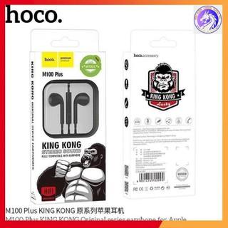 Tai Nghe Nhét Tai Hoco M100 Plus King Kong Chính Hãng - Bảo hành 3 tháng 1 đổi 1 - Tai Nghe IPhone - M100 thumbnail